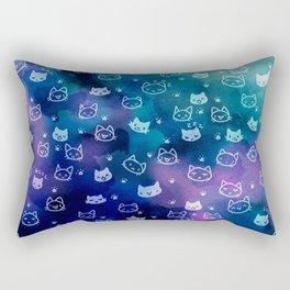 Kitty galaxy-meow Rectangular Pillow