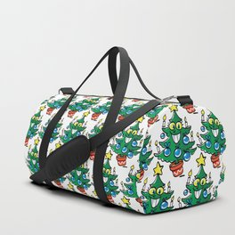 Happy Christmas tree Duffle Bag