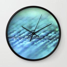 Blue magic Wall Clock