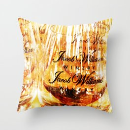 Jacob's Stemware Throw Pillow