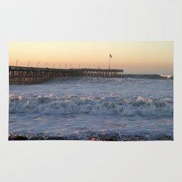 Ventura Sunset Pier Rug