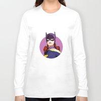 batgirl Long Sleeve T-shirts featuring Batgirl by Rabassa