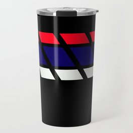 Team Colors 4...blue,red white Travel Mug