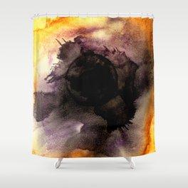 Black Hole Sun Shower Curtain