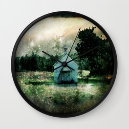 We can never go back again. Wall Clock