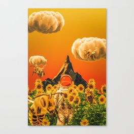 Flower Boy Canvas Print
