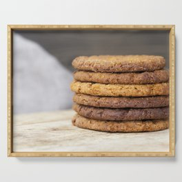 oatmeal cookies Serving Tray