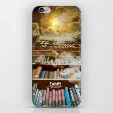 Inkitt empowers authors to become the kings and queens of the universe iPhone Skin