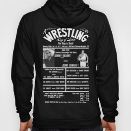 #4-B Memphis Wrestling Window Card Hoody