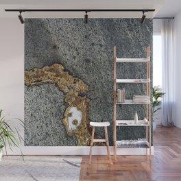 Gold Inlay Marble Wall Mural