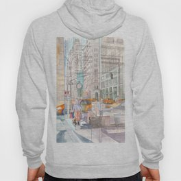 Reflection in the New York City windows II Hoody