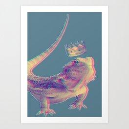 Lizard King Art Print