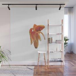 Golg Fish banana Wall Mural
