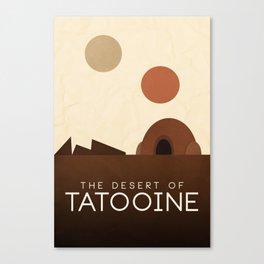 Tatooine Canvas Print