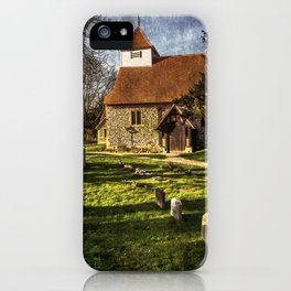 Church of St Mary Sulhamstead Abbots iPhone Case