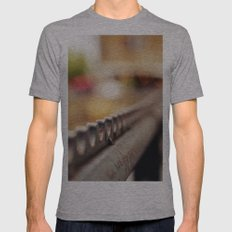 Fence Mens Fitted Tee Athletic Grey SMALL