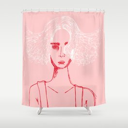 Fires on Hot Days Shower Curtain