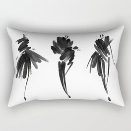 Fashion illustration Rectangular Pillow
