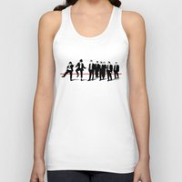 reservoir dogs Tank Tops featuring Reservoir Brothers by The Cracked Dispensary