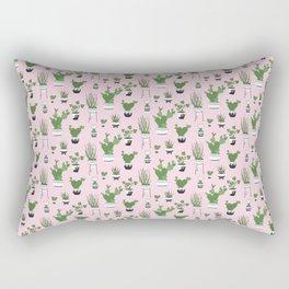 Cactus Love (in pink) Rectangular Pillow