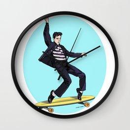 Jailhouse Rockin' Elvis Wall Clock