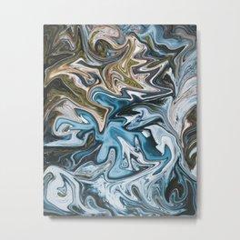 Liquid Life Metal Print