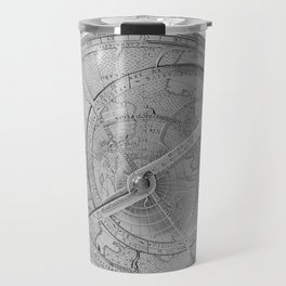 Astrolabe, showing front of mechanism Travel Mug