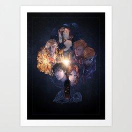 Dead Dreamer Full Cast Art Print