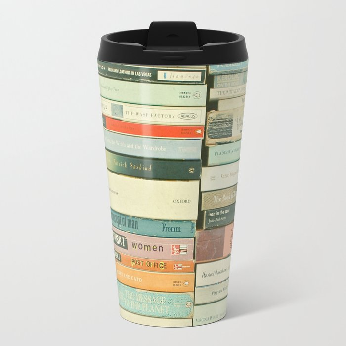 Bookworm Travel Mug
