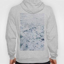 sea foam waves Hoody