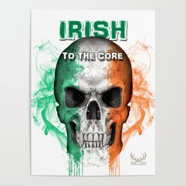 To The Core Collection: Ireland Poster
