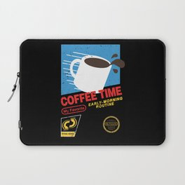 Coffee Time  Laptop Sleeve