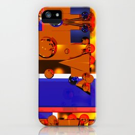 Abstract Atmosphere iPhone Case