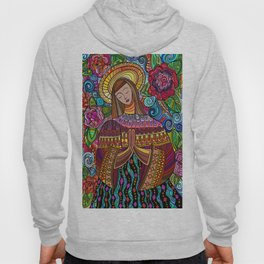 angel praying Hoody