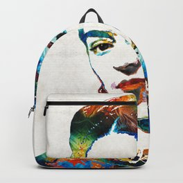 Frida Kahlo Art - Viva La Frida - By Sharon Cummings Backpack