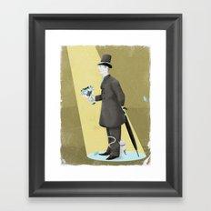 Good Evening! Framed Art Print