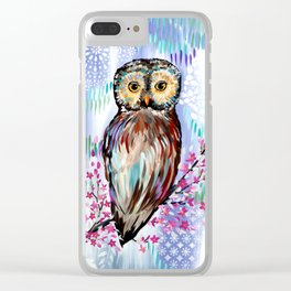 Owl Clear iPhone Case