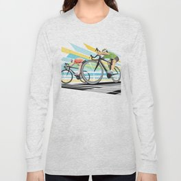 Illustration Graphic Design: Finish Line Long Sleeve T-shirt