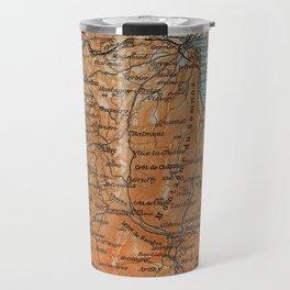 Vintage Map of Annecy France (1914) Travel Mug