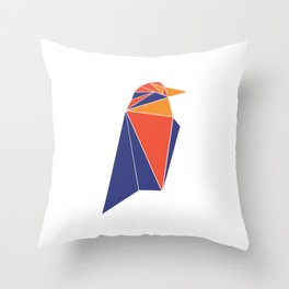 Raven Coin RVN Throw Pillow