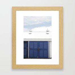 Blue Doors Framed Art Print