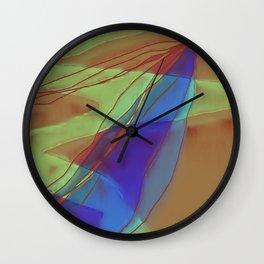 A Well Used Slate Wall Clock