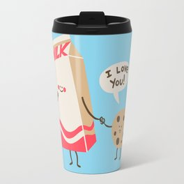 Cookie Loves Milk Travel Mug