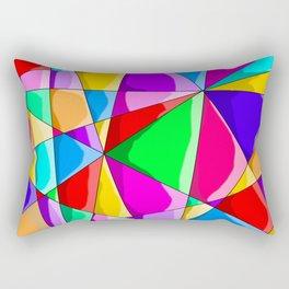 Triangles Rectangular Pillow