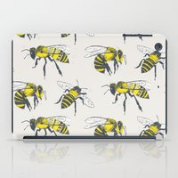 bees iPad Cases featuring Bees by Tracie Andrews