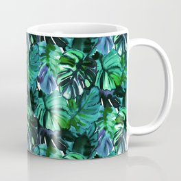 Welcome to the Jungle Palm electric green Coffee Mug