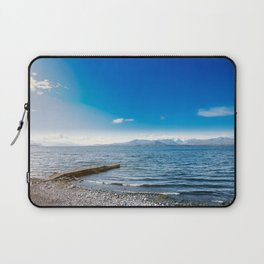 Quiet coast in the lake Laptop Sleeve