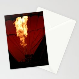 Hot Air Balloon Fire Stationery Cards