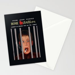 Home (J)A(i)lone Stationery Cards