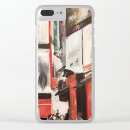 City Painting - New York Clear iPhone Case